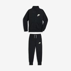 Спортивный костюм для девочек школьного возраста Nike Sportswear Two-PieceСпортивный костюм для девочек школьного возраста Nike Sportswear Two-Piece включает универсальные брюки и куртку из мягкой ткани френч терри для тепла и комфорта.<br>