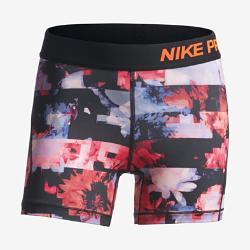 Шорты для девочек школьного возраста Nike ProШорты для девочек школьного возраста Nike Pro из влагоотводящей ткани обеспечивают комфорт базовой модели в спортзале и на каждый день.<br>