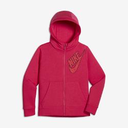 Худи для девочек школьного возраста Nike Sportswear ClubХуди для девочек школьного возраста Nike Sportswear Club из мягкого уютного флиса обеспечивает комфорт и тепло.<br>