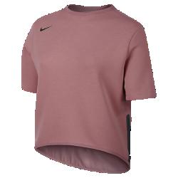 Женская футболка для тренинга с коротким рукавом Nike DryЖенская футболка для тренинга с коротким рукавом Nike Dry из эластичной термоткани обеспечивает тепло и свободу движений.<br>