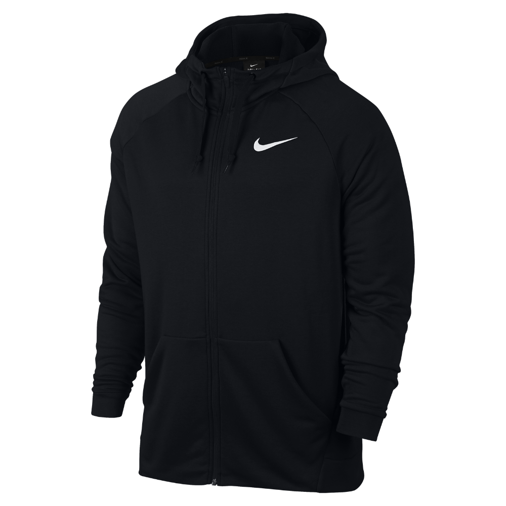 <ナイキ(NIKE)公式ストア> ナイキ Dri-FIT メンズ フルジップ トレーニングパーカー 860466-010 ブラック ★30日間返品無料 / Nike+メンバー送料無料