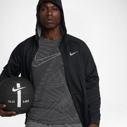 Мужская куртка для тренинга Nike Therma SphereМужская куртка для тренинга Nike Therma Sphere из легкой ткани с рукавами покроя реглан обеспечивает тепло и свободу движений во время тренировок в холодную погоду.<br>