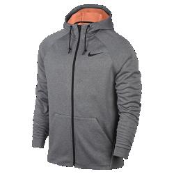 Мужская куртка для тренинга с молнией во всю длину Nike Therma SphereМужская куртка для тренинга с молнией во всю длину Nike Therma Sphere из легкой ткани с рукавами покроя реглан обеспечивает тепло и свободу движений во время тренировок в холодную погоду.<br>