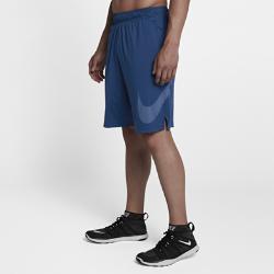 Мужские шорты для тренинга с логотипом Swoosh Nike DryМужские шорты для тренинга с логотипом Swoosh Nike Dry из легкой влагоотводящей ткани обеспечивают комфорт на весь день.<br>