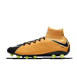 Футбольные бутсы для игры на искусственном газоне Nike Hypervenom Phatal 3 DF AG-PROФутбольные бутсы для игры на искусственном газоне Nike Hypervenom Phatal 3 DF, созданные для атакующих игроков, позволяют быстро менять направление движения на полях с короткой травой и обеспечивают более высокую скорость удара.<br>