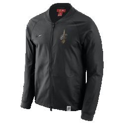 Мужская куртка НБА Cleveland Cavaliers Nike ModernМужская куртка НБА Cleveland Cavaliers Nike Modern — это сочетание эластичного тканого материала, классического кроя куртки-бомбера и фирменных деталей для исключительного комфорта и командного стиля. Преимущества  Эластичный тканый материал с усиленными швами для защиты от непогоды Зауженный крой для комфорта и концентрации на тренировке Карманы на молнии для надежного хранения  Информация о товаре  Состав: 98% хлопок/2% спандекс Машинная стирка Импорт<br>