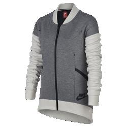 Куртка для девочек школьного возраста Nike Sportswear Tech FleeceКуртка для девочек школьного возраста Nike Sportswear Tech Fleece с надежными карманами обеспечивает легкость и тепло.  ЛЕГКОСТЬ И ТЕПЛО  Ткань Nike Tech Fleece для легкости и тепла.  НАДЕЖНОЕ ХРАНЕНИЕ  В передних карманах удобно хранить телефон и другие ценные вещи. Благодаря мягкой подкладке из ткани джерси карманы надежно защищают руки от холода.  ПРОЧНОСТЬ  Горловина и манжеты из рубчатой ткани в сочетании с усиленными плечевыми швами обеспечивают прочность и создают аккуратный вид.<br>