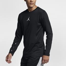 Мужская баскетбольная футболка с длинным рукавом Jordan FlightМужская баскетбольная футболка с длинным рукавом Jordan Flight из эластичной влагоотводящей ткани обеспечивает комфорт и свободу движений во время игры.<br>