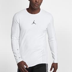【ナイキ(NIKE)公式ストア】 ジョーダン フライトメンズ ロングスリーブ バスケットボールトップ 861492-100 ホワイト