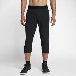 Мужские баскетбольные брюки длиной 3/4 Jordan Ultimate FlightМужские баскетбольные брюки длиной 3/4 Jordan Ultimate Flight из эластичной влагоотводящей ткани обеспечивают комфорт и естественную свободу движений на площадке и за ее пределами.<br>