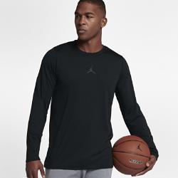 Мужская футболка для тренинга с длинным рукавом Jordan 23 AlphaМужская футболка для тренинга с длинным рукавом Jordan 23 Alpha из влагоотводящей ткани со вставкой из сетки на спине обеспечивает комфорт во время тренировки.<br>
