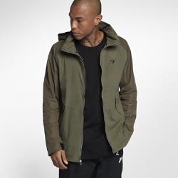 Мужская куртка Nike Sportswear Air MaxМужская куртка Nike Sportswear Air Max из гладкого тканого материала с разрезом на спине с подкладом из сетки обеспечивает защиту и воздухопроницаемость.<br>