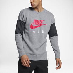 Мужской свитшот с длинным рукавом Nike Sportswear AirМужской свитшот с длинным рукавом Nike Sportswear Air из мягкого флиса обеспечивает тепло и комфорт.<br>