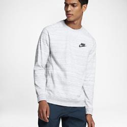 Мужской свитшот с длинным рукавом Nike Sportswear Advance 15Мужской свитшот с длинным рукавом Nike Sportswear Advance 15 из мягкого смесового хлопка обеспечивает длительный комфорт.<br>