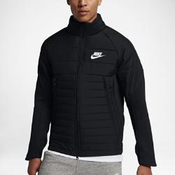 Мужская куртка Nike Sportswear Advance 15Мужская куртка Nike Sportswear Advance 15 со стеганой конструкцией и молнией до подбородка обеспечивает тепло и комфорт в холодную погоду.<br>