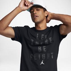 """Мужская футболка Jordan Sportswear """"Let There Be Flight""""Мужская футболка Jordan Sportswear """"Let There Be Flight"""" из чистого хлопка с фирменной графикой обеспечивает комфорт на весь день.<br>"""