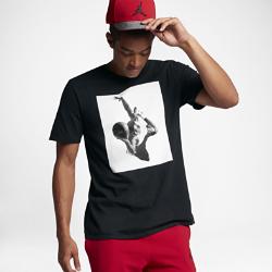 Мужская футболка Jordan Sportswear Flight HeritageМужская футболка Jordan Sportswear Flight Heritage из чистого хлопка обеспечивает комфорт на весь день.<br>
