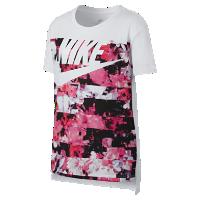 <ナイキ(NIKE)公式ストア> ナイキ スポーツウェア ドライ ジュニア (ガールズ) Tシャツ 862691-100 ホワイト画像