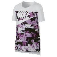 <ナイキ(NIKE)公式ストア> ナイキ スポーツウェア ドライ ジュニア (ガールズ) Tシャツ 862691-102 ホワイト画像