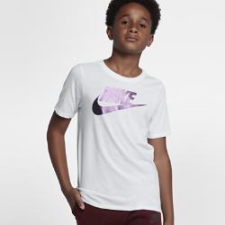 Футболка для тренинга для мальчиков школьного возраста Nike Sportswear Dry ColorshiftФутболка для тренинга для мальчиков школьного возраста Nike Sportswear Dry Colorshift из влагоотводящей ткани обеспечивает комфорт на тренировках и на каждый день.<br>
