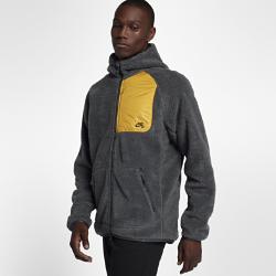 Мужская флисовая худи Nike SB EverettМужская худи Nike SB Everett защищает от холода. Эта худи с молнией во всю длину из невероятной мягкой флисовой ткани Sherpa обеспечивает абсолютный комфорт.<br>