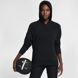 Женская худи для тренинга Nike Dri-FITЖенская худи для тренинга Nike Dri-FIT из влагоотводящей ткани с удлиненной нижней кромкой обеспечивает защиту и комфорт во время тренировки.<br>