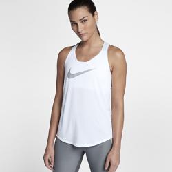 Женская майка для тренинга Nike Breathe ElastikaЖенская майка для тренинга Nike Breathe Elastika из легкой ткани с усовершенствованной Т-образной спиной обеспечивает охлаждение и свободу движений во время тренировок.<br>