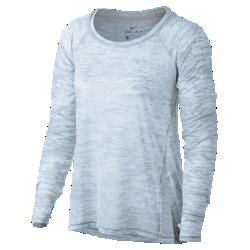 Женская футболка для тренинга с длинным рукавом Nike BreatheЖенская футболка для тренинга с длинным рукавом Nike Breathe из легкой влагоотводящей ткани обеспечивает охлаждение и комфорт.<br>