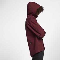 Мужская куртка Nike SB Coaches из материала GORE-TEX®Мужская куртка Nike SB Coaches из материала GORE-TEX ® обеспечивает идеальный баланс вентиляции и водонепроницаемости. Съемный капюшон и другие регулируемые элементы помогают адаптироваться к погодным изменениям. Несколько карманов позволяют носить с собой все необходимое и защищают содержимое от дождя. Защита  Водонепроницаемый, но дышащий трехслойный материал GORE-TEX ® обеспечивает вентиляцию и комфорт. Регулируемые элементы  Капюшон можно отстегнуть и сложить в специальный карман. Манжеты и нижнюю кромку можно отрегулировать для идеальной посадки. Двусторонняя молния с планкой на кнопках спереди позволяет регулировать вентиляцию и менять образ.<br>