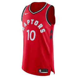 Demar Derozan Icon Edition Authentic (Toronto Raptors) Men's Nike NBA Connected Jersey