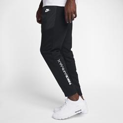 Мужские джоггеры Nike SportswearМужские джоггеры Nike Sportswear с зауженным силуэтом из мягкой ткани френч терри с гладкими ткаными накладками обеспечивают комфорт.<br>