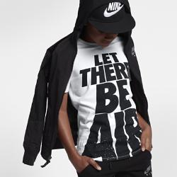 """Футболка для мальчиков школьного возраста Nike Sportswear """"Let There Be Air""""Футболка для мальчиков школьного возраста Nike Sportswear """"Let There Be Air"""" из чистого хлопка обеспечивает длительный комфорт.<br>"""