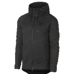 Мужская худи с молнией во всю длину Nike Sportswear Tech FleeceМужская худи с молнией во всю длину Nike Sportswear Tech Fleece из инновационной ткани обеспечивает тепло и комфортную защиту без лишних слоев.<br>