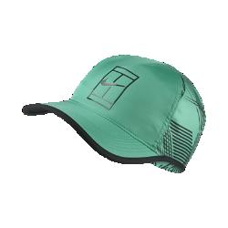 Теннисная бейсболка NikeCourt AeroBillТеннисная бейсболка NikeCourt AeroBill из дышащей влагоотводящей ткани с технологией AeroBill и нижней частью козырька из черного материала защищает от бликования, позволяя выполнять подачи и принимать мяч с потрясающей точностью.<br>