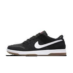 Мужская обувь для скейтбординга Nike SB Dunk Low EliteВ обновленной версии мужских кед для скейтбординга Nike SB Dunk Low Elite фирменные классические линии дополнены такими современными элементами, как низкопрофильная вставка Nike Zoom Air и еще более гибкая подошва.<br>