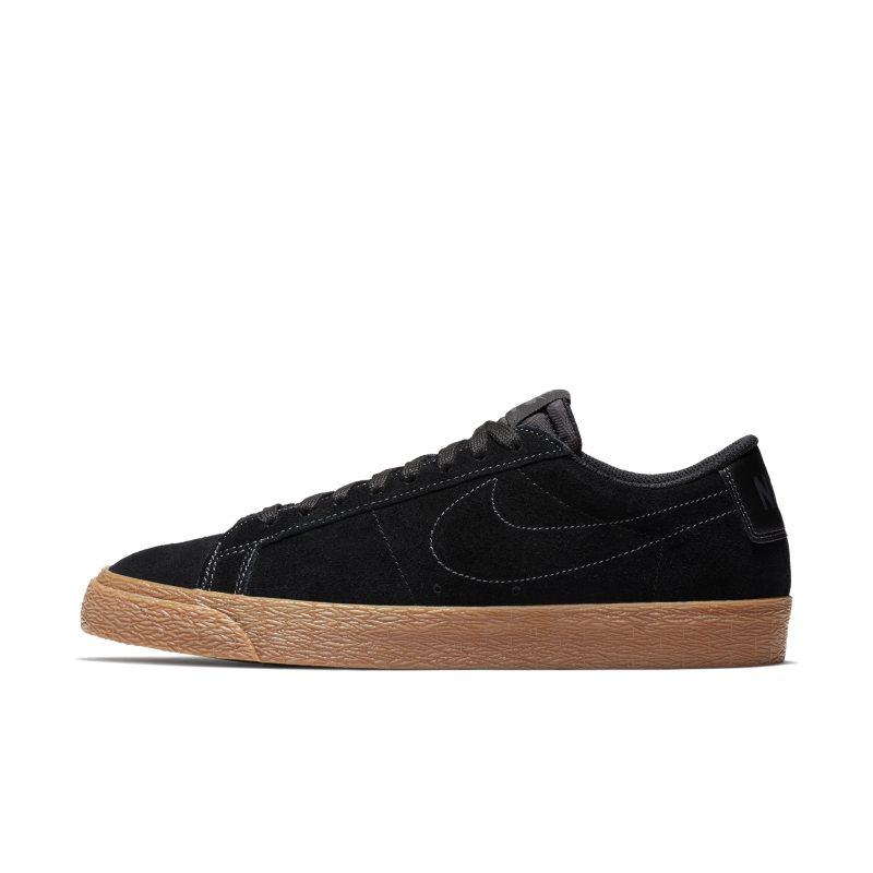 Nike SB Blazer Low Men's Skateboarding Shoe - Black Image
