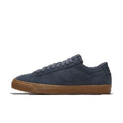 Мужская обувь для скейтбординга Nike SB Blazer LowМужская обувь для скейтбординга Nike SB Blazer Low — это обновление классического баскетбольного профиля в версии для скейтбординга с невесомой защитой от ударных нагрузок и верхом из кожи и замши.<br>