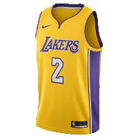 <ナイキ(NIKE)公式ストア>ロンゾ ボール アイコン エディション スウィングマン ジャージー (ロサンゼルス・レイカーズ) メンズ ナイキ NBA ジャージー 864423-736 イエロー画像