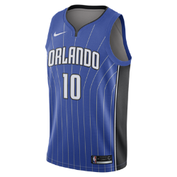 Мужское джерси Nike НБА Evan Fournier Icon Edition Swingman Jersey (Orlando Magic) с технологией NikeConnectСозданное по образцу аутентичных джерси НБА мужское джерси Nike НБА Icon Edition Swingman (Orlando Magic) с технологией NikeConnect обеспечивает комфорт и охлаждение при движении, позволяя тебе демонстрировать поддержку любимой команды. Войди в игру Джерси Nike НБА с технологией NikeConnect дает удобный доступ к информации об атлетах и уникальных предложениях, а также шанс стать ближе к любимой игре. Загрузи приложение NikeConnect и отсканируй этикетку на нижней кромке своего джерси с помощью смартфона. Легкость и комфорт Легкая и прочная сетка двойного переплетения для охлаждения. Отведение влаги Технология Dri-FIT отводит влагу и обеспечивает комфорт. Информация о товаре  Твиловые имя и номер игрока нанесены методом термопечати Аутентичные логотипы и цвета Состав: 100% переработанный полиэстер Машинная стирка Импорт<br>