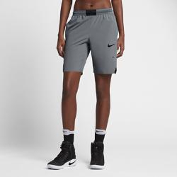 Женские баскетбольные шорты Nike AeroSwiftЖенские баскетбольные шорты Nike AeroSwift обеспечивают прохладу и свободу движений для абсолютной концентрации на игре.  Легкость и вентиляция  Пояс Flyvent из дышащей сетки улучшает воздухопроницаемость для абсолютного комфорта.  Свобода движений  Эластичная ткань Nike Flex обеспечивает динамическую посадку для комфорта во время бега и прыжков.  Комфорт  Водоотталкивающее покрытие предотвращает прилипание влажной ткани к коже. Вставки из влагоотводящего материала позволяют вытирать руки для более уверенного захвата мяча.<br>