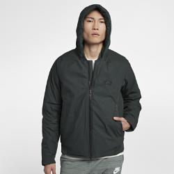 Мужская куртка Nike SportswearМужская куртка Nike Sportswear обеспечивает комфорт в переменчивую погоду благодаря легкому утеплителю из пуха, складывающейся конструкции и съемному капюшону.<br>
