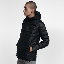 Мужская куртка с пуховым наполнителем Nike SportswearМужская куртка с пуховым наполнителем Nike Sportswear обеспечивает комфорт в переменчивую погоду благодаря водоотталкивающей ткани, легкому пуховому наполнителю и складной конструкции.<br>