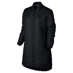 Женская парка Nike SportswearЖенская парка Nike Sportswear из прочной влагонепроницаемой ткани с легким наполнителем обеспечивает тепло и защиту от непогоды.<br>