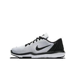 Кроссовки для тренинга для дошкольников/школьников Nike Flex Supreme TR 5Кроссовки для тренинга для дошкольников/школьников Nike Flex Supreme TR 5 обеспечивают легкость, воздухопроницаемость и гибкость для тренировок любого типа.  Легкость и воздухопроницаемость  Легкий верх из сетки обеспечивает вентиляцию и помогает сохранить ощущение прохлады в самые жаркие моменты тренировки.  Надежная поддержка  Мягкий пеноматериал фиксирует пятку, а нити Flywire обеспечивают надежную стабилизацию и поддержку для упражнений с весом.  Абсолютная гибкость  Подошва обеспечивает оптимальную гибкость и амортизацию для прыжков, наклонов и движений в любом направлении.<br>