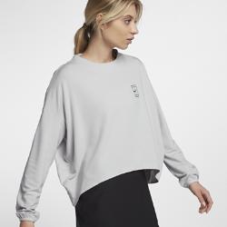 Женская теннисная футболка с длинным рукавом NikeCourt Dri-FITЖенская теннисная футболка с длинным рукавом NikeCourt Dri-FIT из влагоотводящей ткани со свободной посадкой обеспечивает комфорт и свободу движений во время игры.<br>