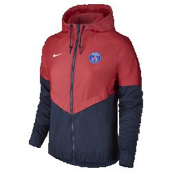 Женская куртка Paris Saint-Germain Authentic WindrunnerЖенская куртка Paris Saint-Germain Authentic Windrunner сохранила классические элементы оригинальной модели: шеврон на груди и прочную ткань, которая защищает от непогоды во время игры и на улицах города.<br>