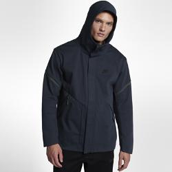 Мужская куртка Nike Sportswear Tech Fleece Repel WindrunnerМужская куртка Nike Sportswear Tech Fleece Windrunner Repel — новая версия классической беговой куртки Nike из особого гладкого флиса для легкости и тепла в дождливую прохладную погоду.<br>