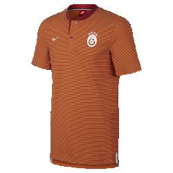 Мужская рубашка-поло Galatasaray S.K. Modern Authentic Grand SlamМужская рубашка-поло Galatasaray S.K. Modern Authentic Grand Slam из мягкого смесового хлопка дополнена тканой накладкой с символикой команды.<br>