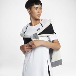 Женская футболка с рукавом средней длины Nike Sportswear BondedЖенская футболка с рукавом средней длины Nike Sportswear Bonded из мягкой ткани с удлиненным силуэтом и кромкой с разрезами обеспечивает максимальный комфорт.<br>