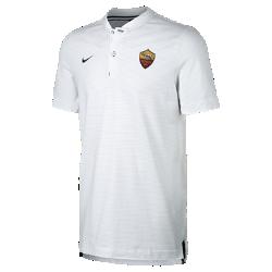 Мужская рубашка-поло A.S. Roma Modern Authentic Grand SlamМужская рубашка-поло A.S. Roma Modern Authentic Grand Slam из мягкого смесового хлопка дополнена тканой накладкой с символикой команды.<br>